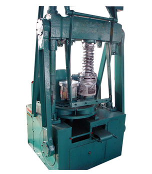 Full closed charcoal powder briquette press