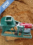 Biomass Crusher Diesel Engine