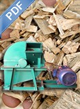 Biomass Crusher Electric Engine