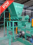 Mechanical Stamping Briquette Press Belt Conveyor