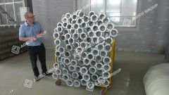 Client from UK Visited Our Punching Briquette Press Plant