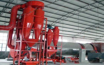 Three layer energy saving rotor drum dryer