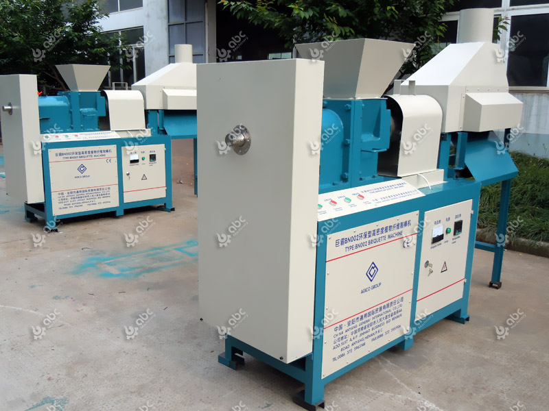 low cost biofuel briquette machine