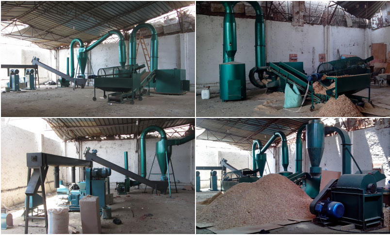 low cost small scale biomass briquetting plant