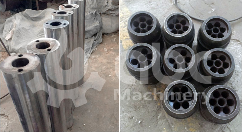 briquette press spare parts panch pole and briquetting mould