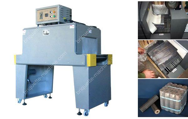 briquettes shrink packing machine