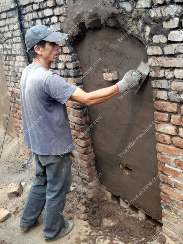 carbonizing kiln gate