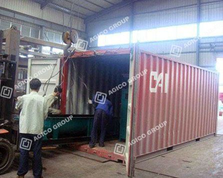 Complete Coal Briquette Plant Shipped to India