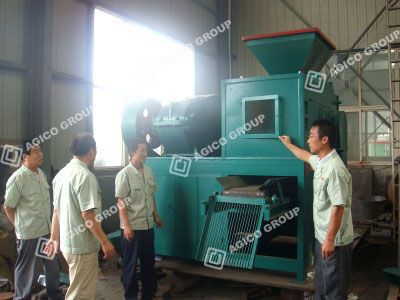 Hebei Customer Visit AGICO Coal Briquette Press
