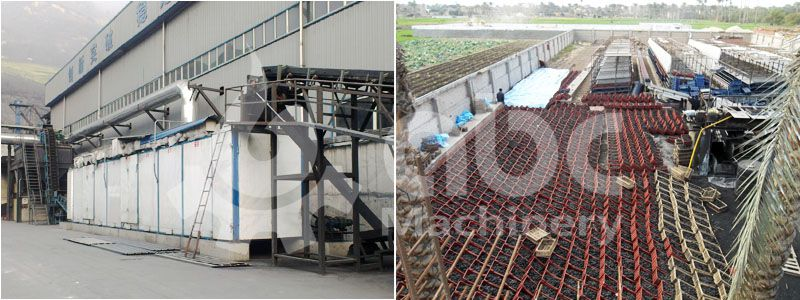 coal briquettes drying process