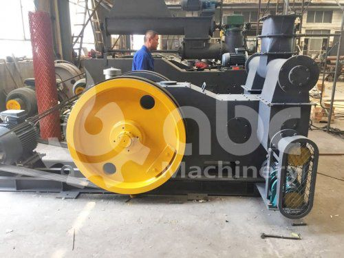 Coconut Shell Briquette Pressing Machine Exported to Philippines