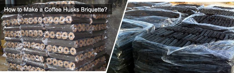 coffee husks briquettes