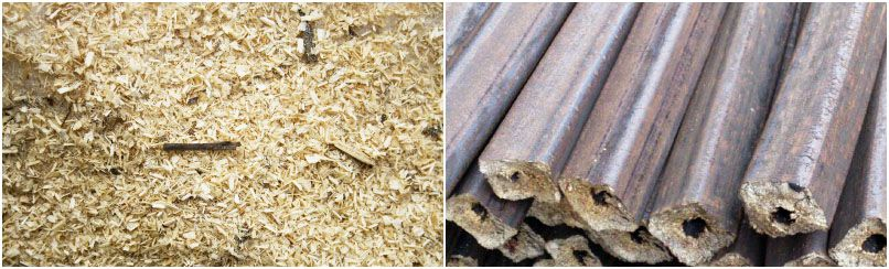 from sawdust to briquettes