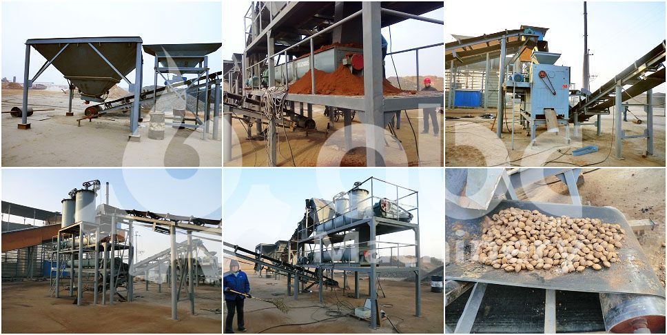 mineral powder briquetting plant in China - large scale business plan