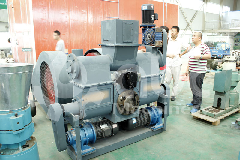 punching biomass briquette press for medium scale production