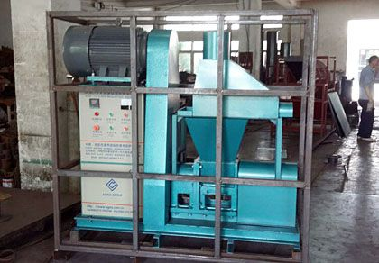 Rice Husk Briquette Making Machine Exported to Germany