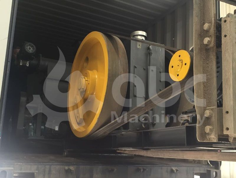 rice husk briquettes pressing equipment loading process