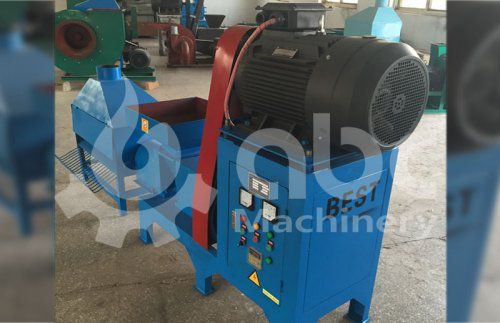 Small Briquetting Press Exported to the Philippines
