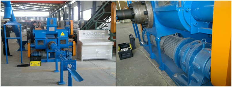 stamping wood pellet machine for manufacturing both pellets and briquettes
