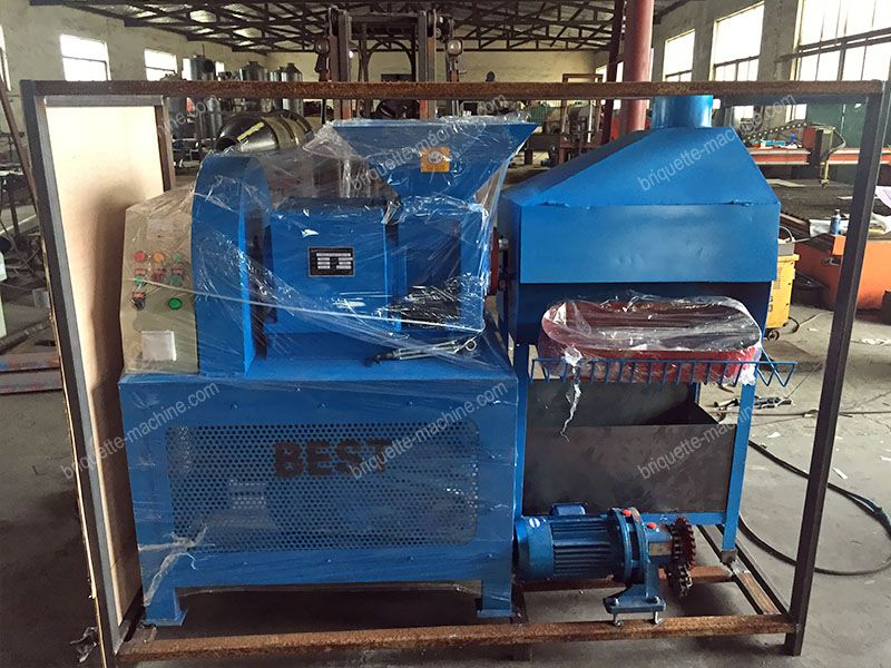 package of wood briquette maker for small to medium production