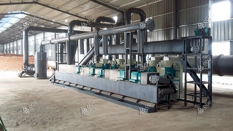 turnkey wood briquette production plant project design