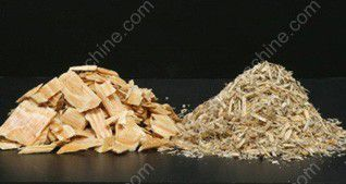 Green Wood Chips