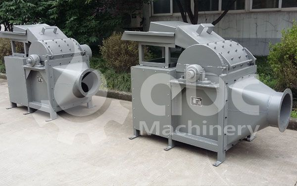 wood crushing machine for the medium scale briquette production line