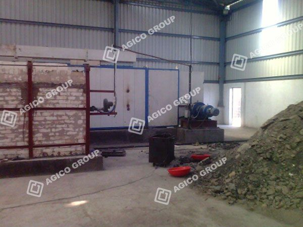 charcoal briquette machine plant